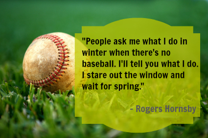 Funny Quotes About Baseball Spring Training