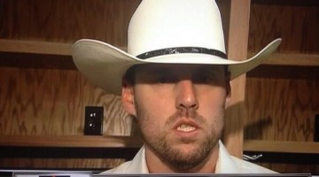John Lackey in Cowboy Hat