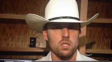 John Lackey in Cowboy Hat
